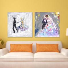 Modern Rectangle People Paintings