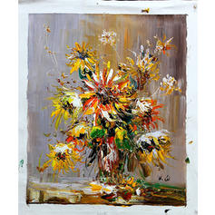 Modern Rectangle Floral/Botanical Paintings
