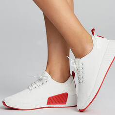 Women's Fabric Casual Outdoor Athletic With Lace-up shoes