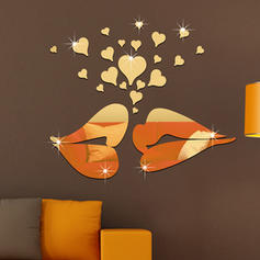 Modern Vertical Pop Art Wall Stickers