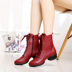 Women's Dance Boots Boots Real Leather Modern
