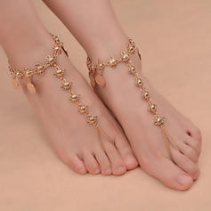 Alloy Foot Jewellery (Sold in a single piece)