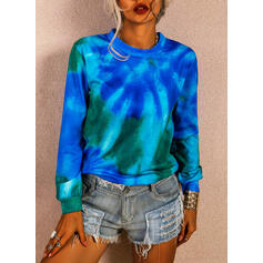 Tie-Dye Col rond Manches longues