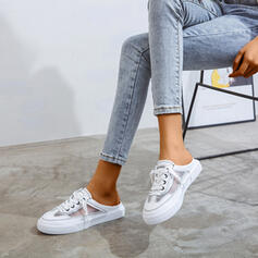 Women's Fabric Casual Outdoor With Lace-up shoes