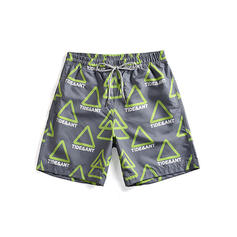 Men's Drawstring Board Shorts