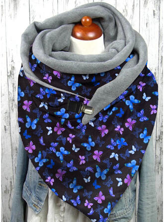 Print/Magic Scarf Reusable/Women's/Simple Style Scarf