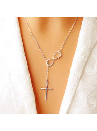 Luck Alloy With Faux Pearl Women's Necklaces