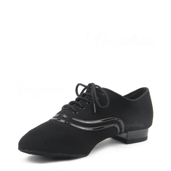 Men's Ballroom Fabric With Lace-up Modern