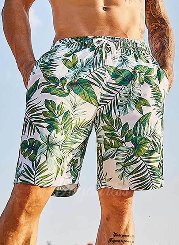 Men's Colorful Swim Trunks Swimsuit